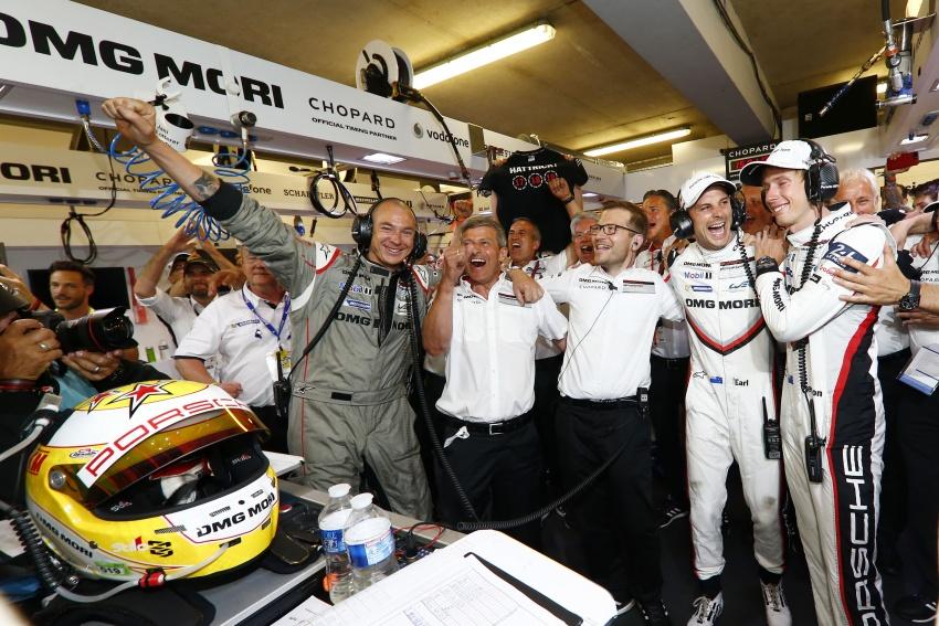 Le Mans 2017 – Porsche victorious in dramatic finale Image #674048