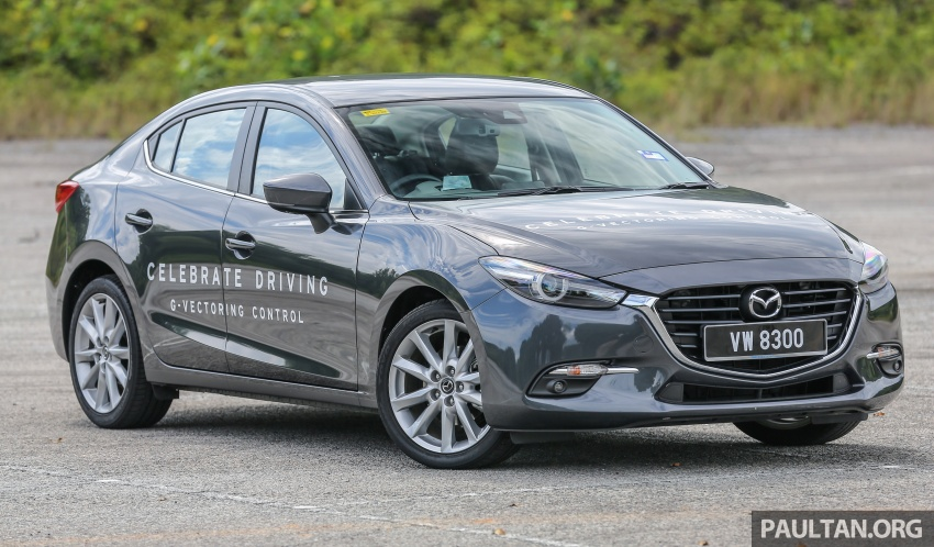 FIRST DRIVE: 2017 Mazda 3 with G-Vectoring Control Image #670908