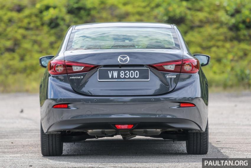 ULASAN VIDEO: Mazda 3 facelift 2017 dengan GVC Image #671472