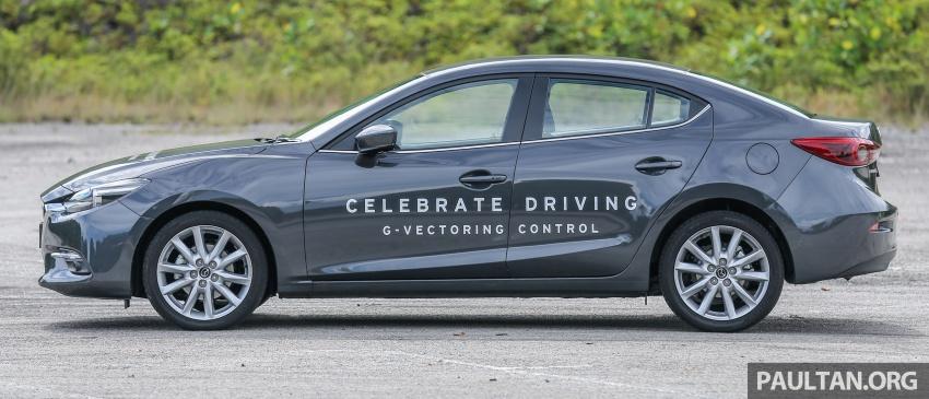 ULASAN VIDEO: Mazda 3 facelift 2017 dengan GVC Image #671409