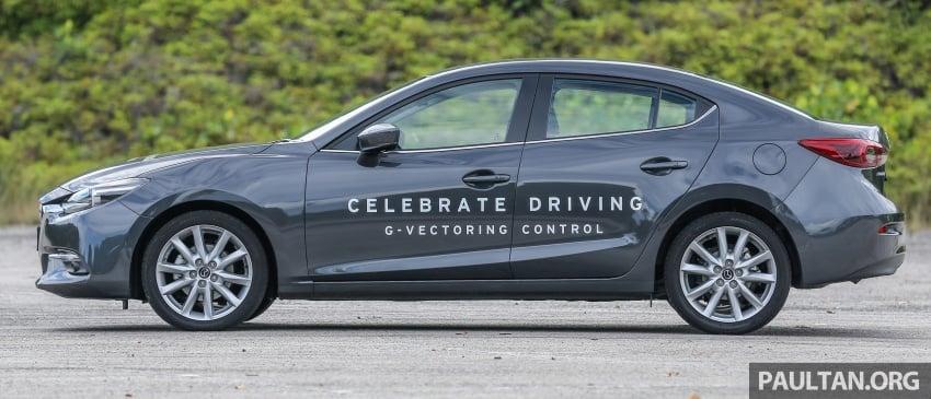 ULASAN VIDEO: Mazda 3 facelift 2017 dengan GVC Image #671410