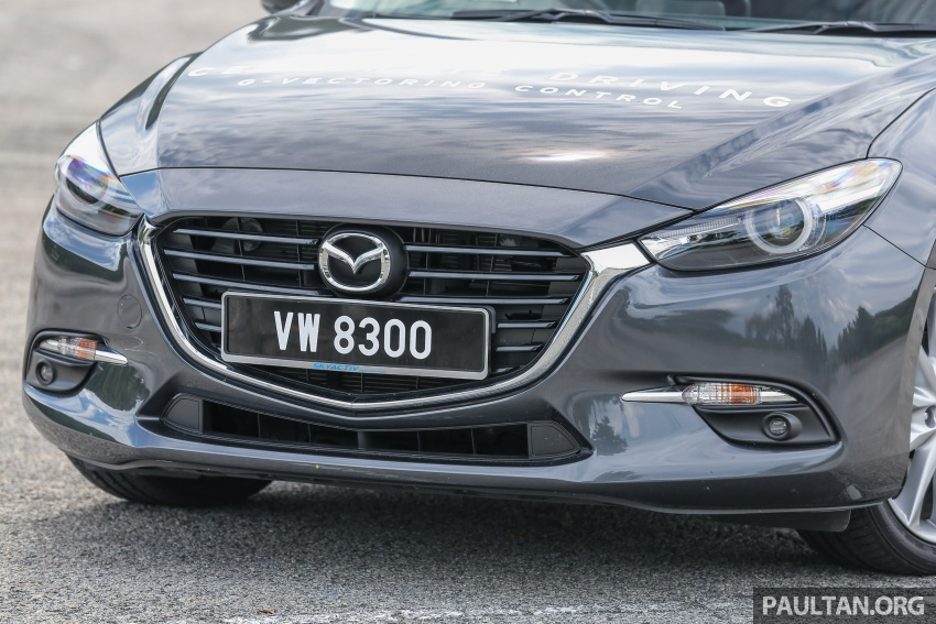 FIRST DRIVE: 2017 Mazda 3 with G-Vectoring Control Image #670922
