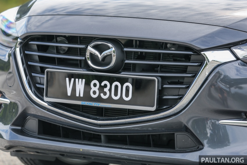 FIRST DRIVE: 2017 Mazda 3 with G-Vectoring Control Image #670926