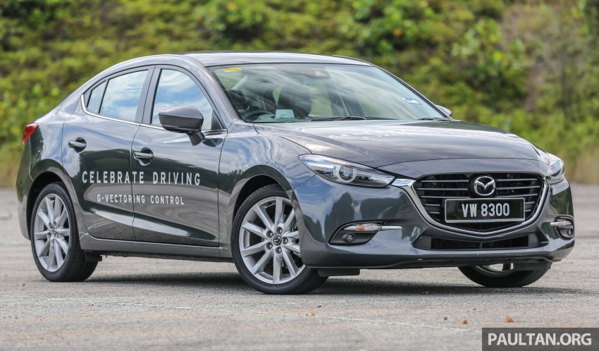 ULASAN VIDEO: Mazda 3 facelift 2017 dengan GVC Image #671405