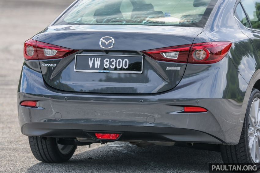 FIRST DRIVE: 2017 Mazda 3 with G-Vectoring Control Image #670933