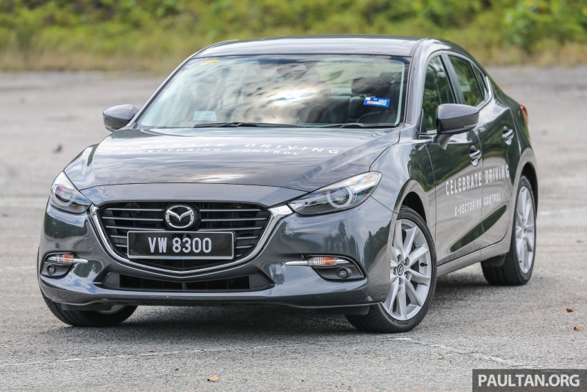 FIRST DRIVE: 2017 Mazda 3 with G-Vectoring Control Image #670910