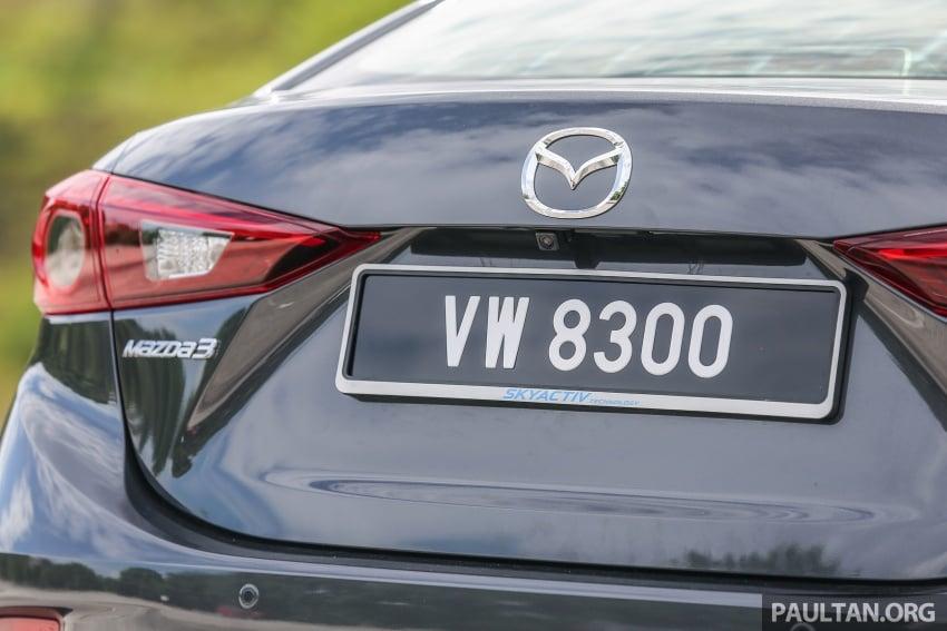 ULASAN VIDEO: Mazda 3 facelift 2017 dengan GVC Image #671455
