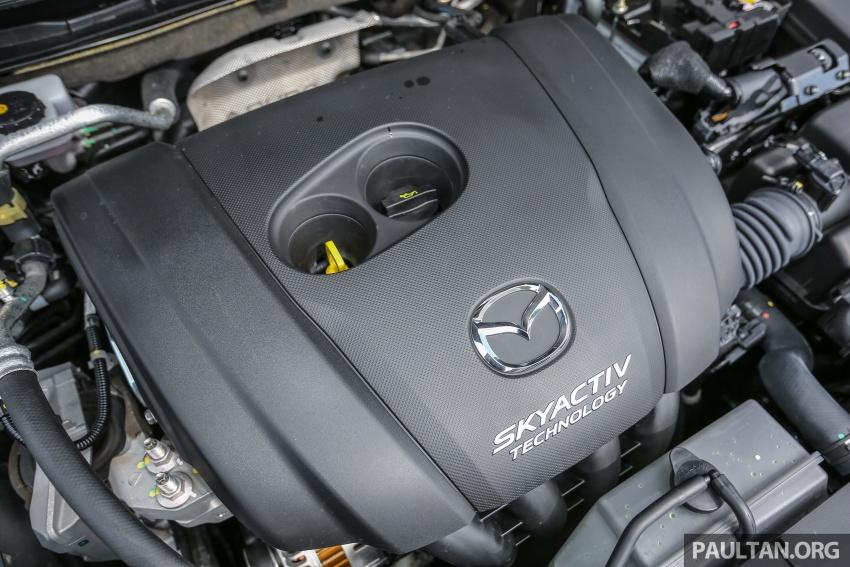 ULASAN VIDEO: Mazda 3 facelift 2017 dengan GVC Image #671451