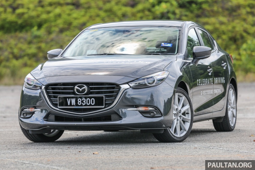 FIRST DRIVE: 2017 Mazda 3 with G-Vectoring Control Image #670911