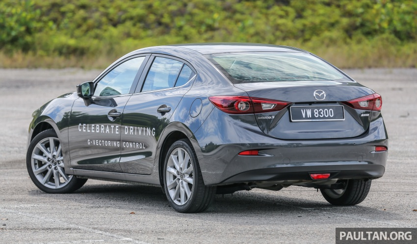 FIRST DRIVE: 2017 Mazda 3 with G-Vectoring Control Image #670912