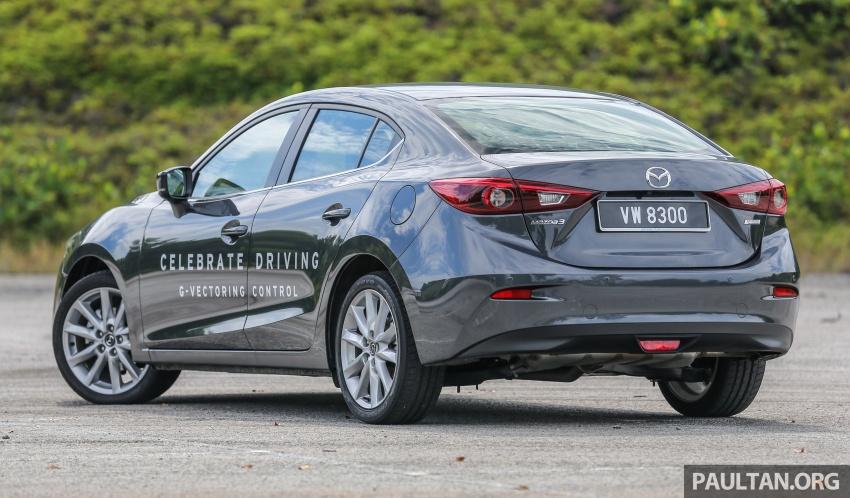 ULASAN VIDEO: Mazda 3 facelift 2017 dengan GVC Image #671407