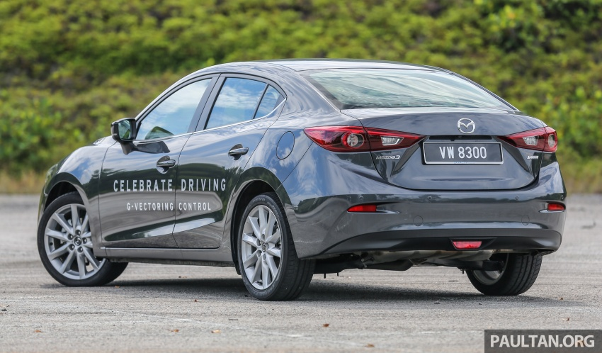 FIRST DRIVE: 2017 Mazda 3 with G-Vectoring Control Image #670913