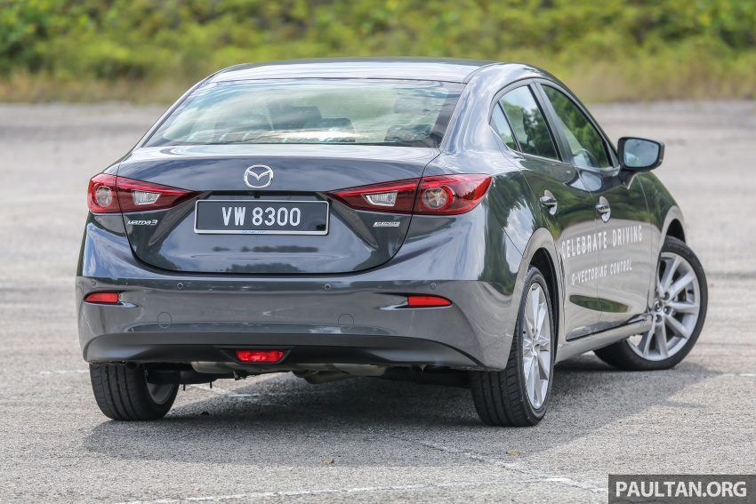 FIRST DRIVE: 2017 Mazda 3 with G-Vectoring Control Image #670914