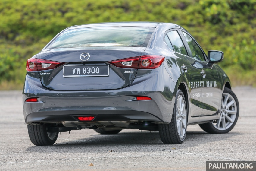 FIRST DRIVE: 2017 Mazda 3 with G-Vectoring Control Image #670915