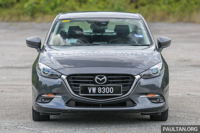 FIRST DRIVE: 2017 Mazda 3 with G-Vectoring Control Image #670916