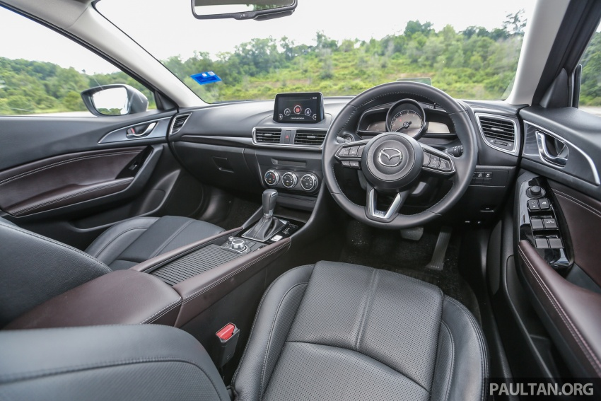 FIRST DRIVE: 2017 Mazda 3 with G-Vectoring Control Image #670955