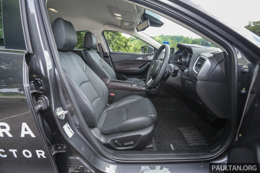 ULASAN VIDEO: Mazda 3 facelift 2017 dengan GVC Image #671434