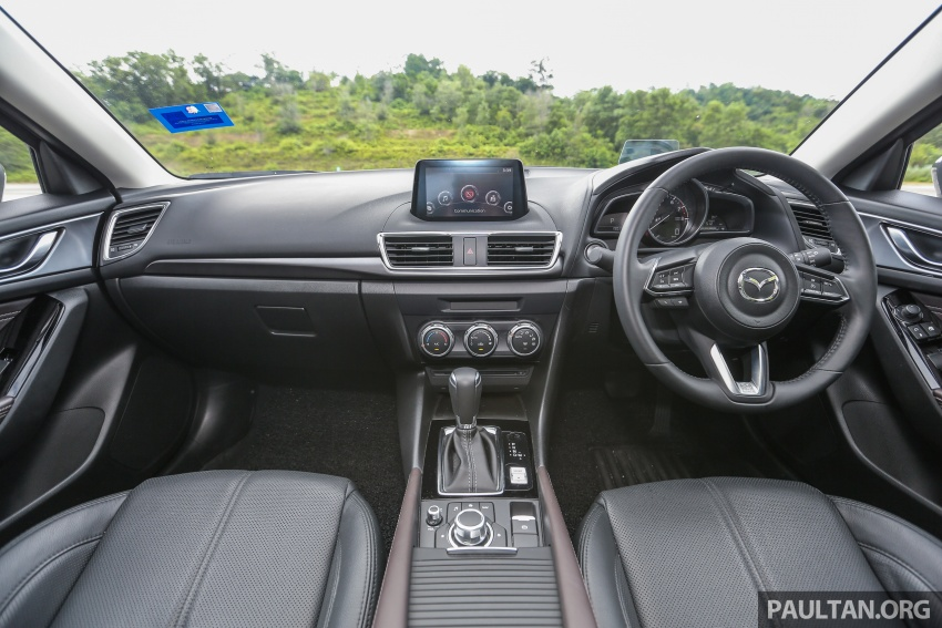 FIRST DRIVE: 2017 Mazda 3 with G-Vectoring Control Image #670942