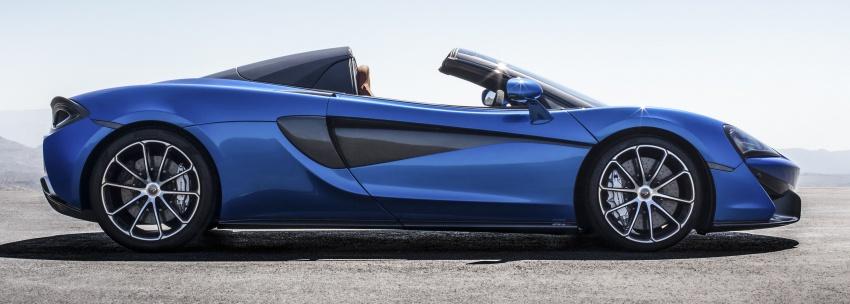 McLaren 570S Spider debuts – 0-100 km/h in 3.2 secs Image #672799