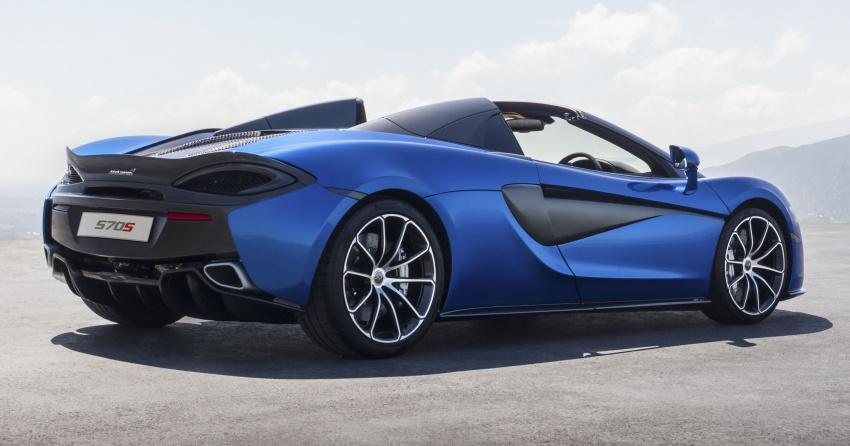 McLaren 570S Spider debuts – 0-100 km/h in 3.2 secs Image #672801