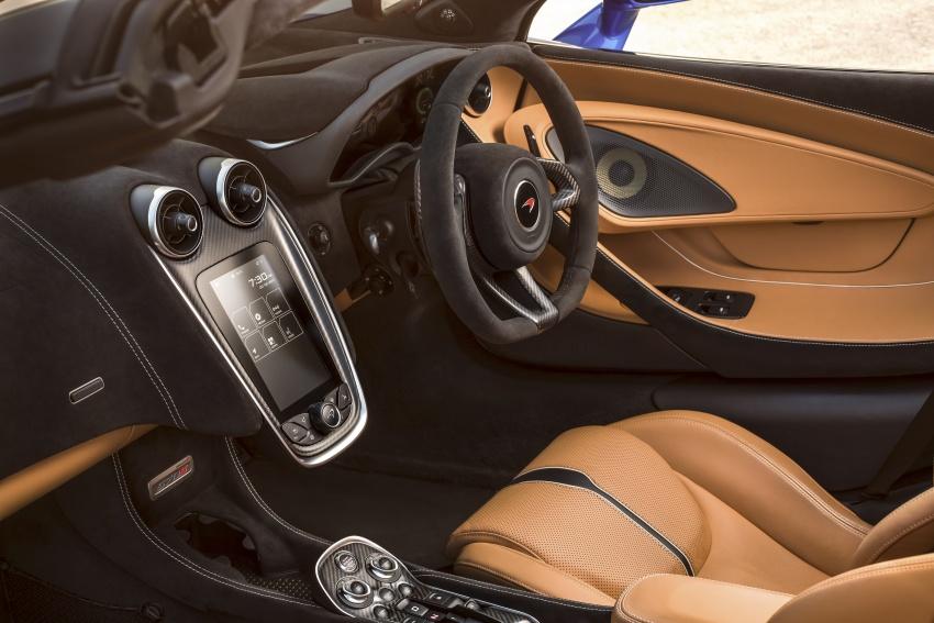 McLaren 570S Spider debuts – 0-100 km/h in 3.2 secs Image #672804