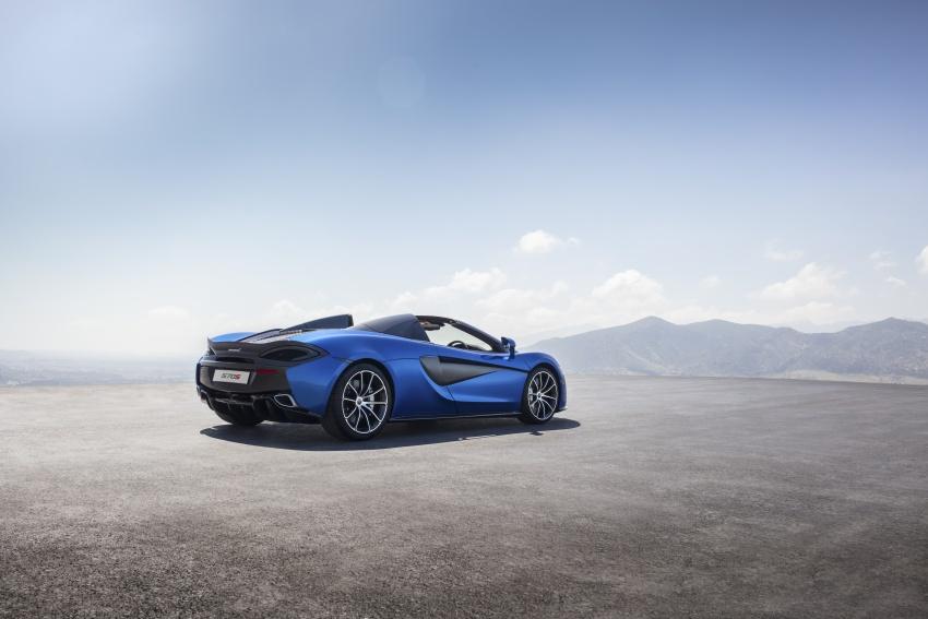 McLaren 570S Spider debuts – 0-100 km/h in 3.2 secs Image #672808