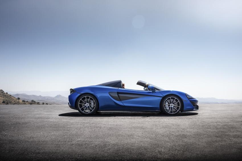 McLaren 570S Spider debuts – 0-100 km/h in 3.2 secs Image #672809