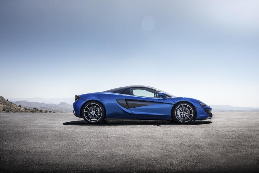 McLaren 570S Spider debuts – 0-100 km/h in 3.2 secs Image #672810