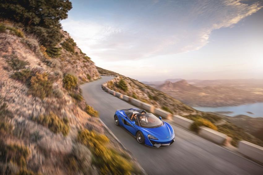 McLaren 570S Spider debuts – 0-100 km/h in 3.2 secs Image #672811