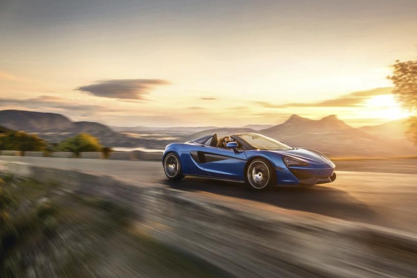 McLaren 570S Spider debuts – 0-100 km/h in 3.2 secs Image #672813