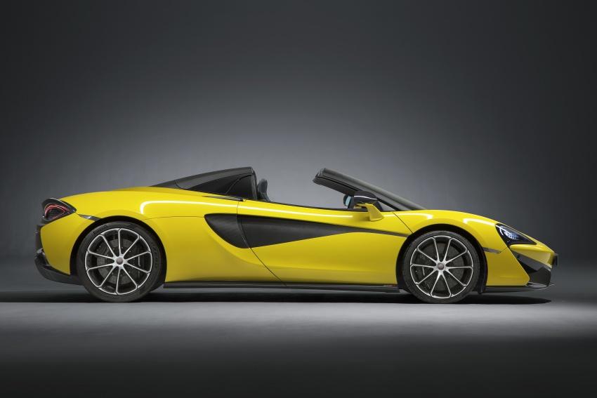 McLaren 570S Spider debuts – 0-100 km/h in 3.2 secs Image #672787
