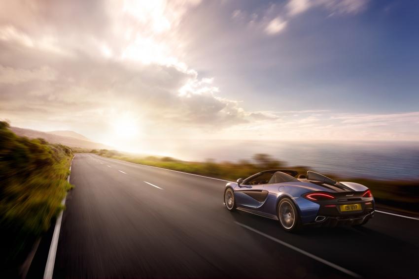 McLaren 570S Spider debuts – 0-100 km/h in 3.2 secs Image #672816