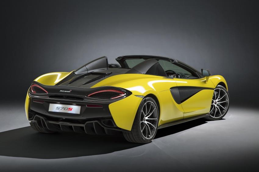 McLaren 570S Spider debuts – 0-100 km/h in 3.2 secs Image #672790