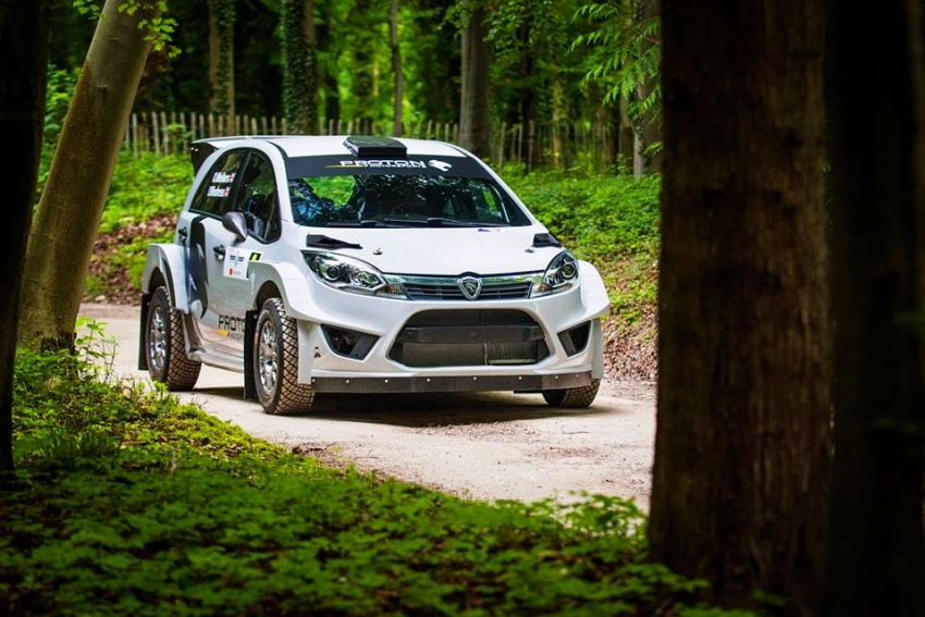 Proton Iriz R5 sertai Goodwood Festival of Speed Image #678176