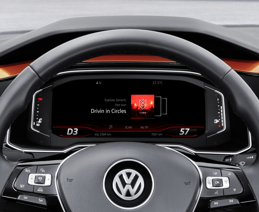 2018 Volkswagen Polo Mk6 gets MQB platform, new Active Info Display, AEB and Active Cruise Control Image #673667