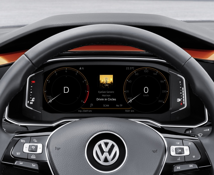 2018 Volkswagen Polo Mk6 gets MQB platform, new Active Info Display, AEB and Active Cruise Control Image #673662