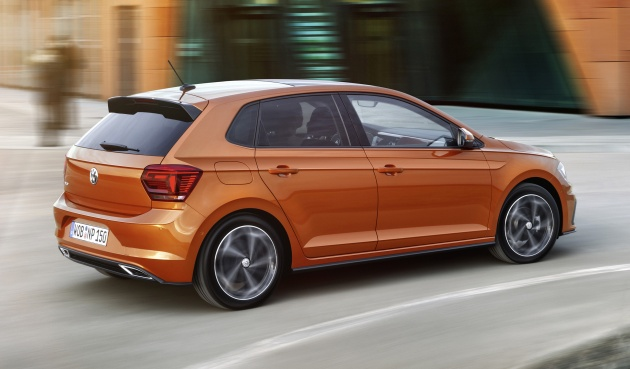 2018 volkswagen polo mk6 gets mqb platform new active info display aeb and active cruise control. Black Bedroom Furniture Sets. Home Design Ideas