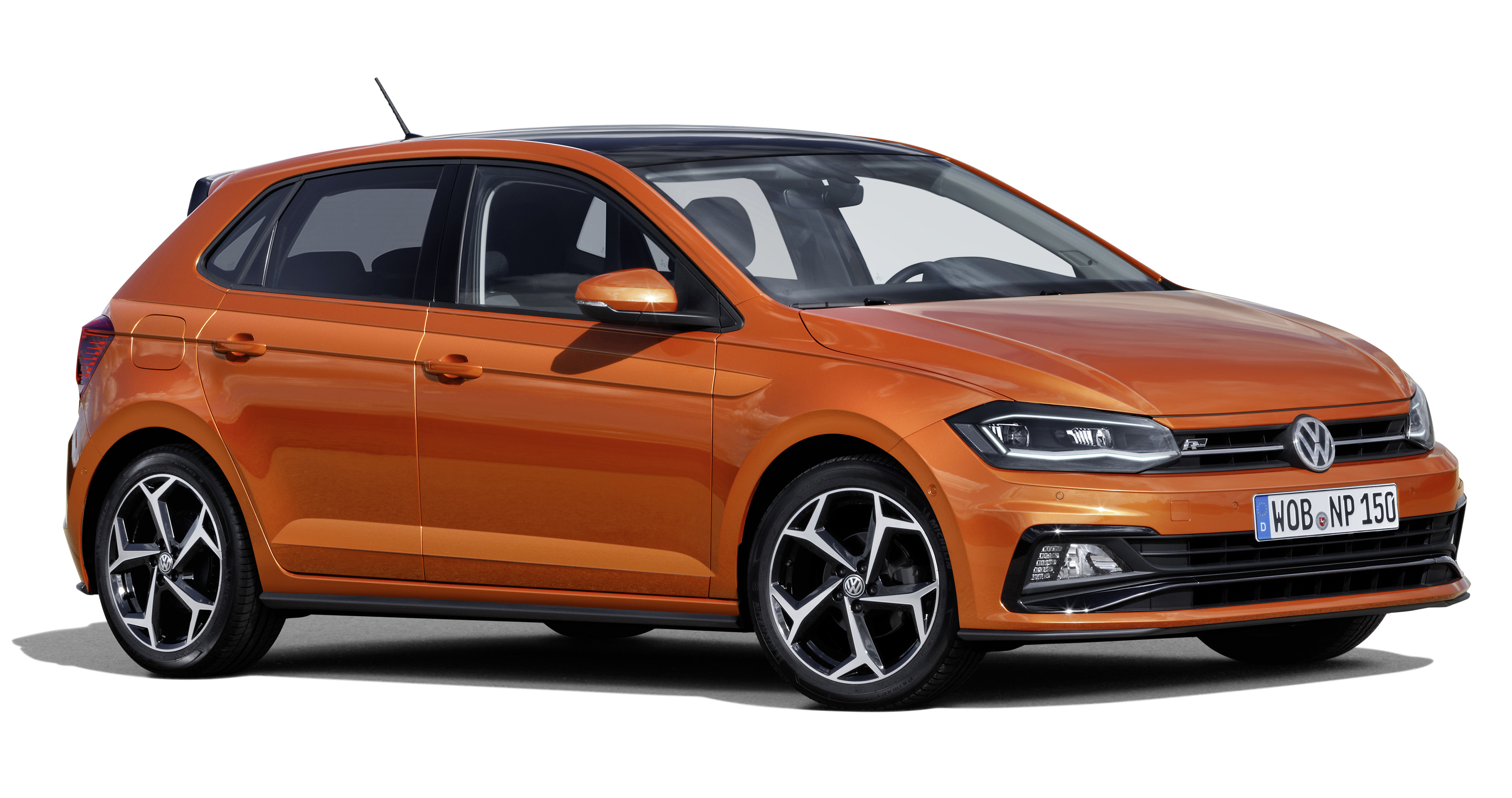 2018 volkswagen polo mk6 gets mqb platform new active info display aeb and active cruise. Black Bedroom Furniture Sets. Home Design Ideas