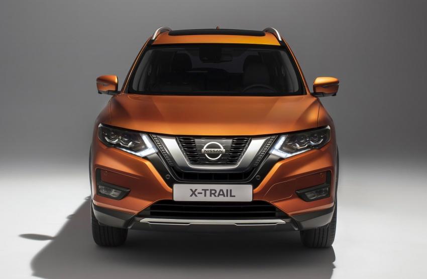 Nissan X-Trail facelift 2017 didedahkan di Eropah Image #668524
