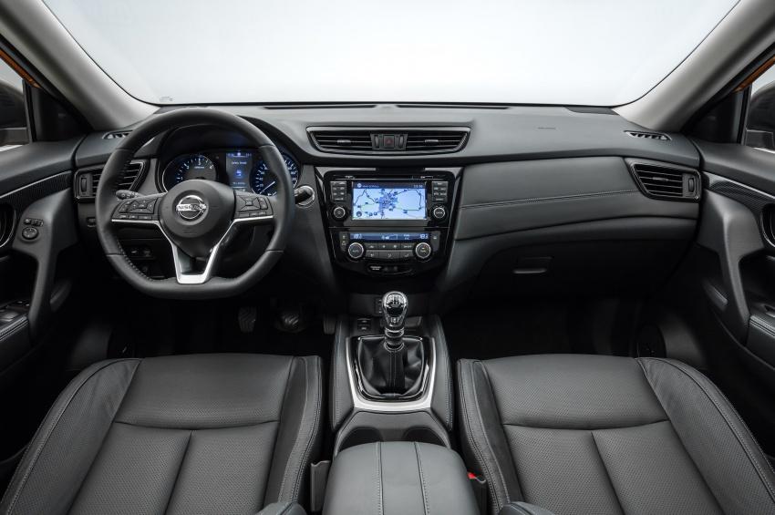 Nissan X-Trail facelift 2017 didedahkan di Eropah Image #668526