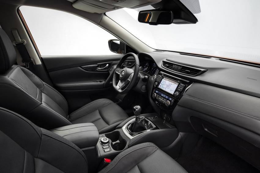 Nissan X-Trail facelift 2017 didedahkan di Eropah Image #668527
