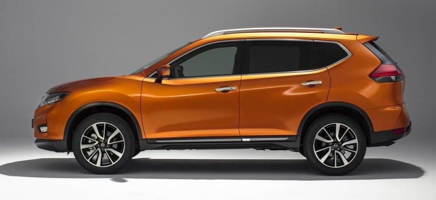 Nissan X-Trail facelift 2017 didedahkan di Eropah Image #668528