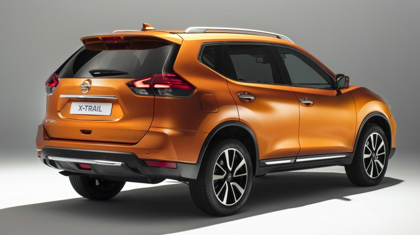 Nissan X-Trail facelift 2017 didedahkan di Eropah Image #668529