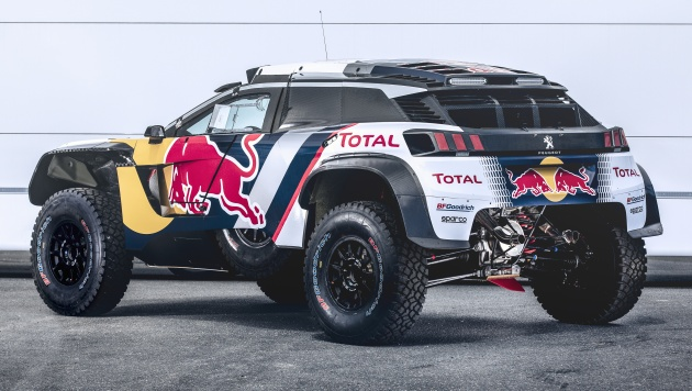 peugeot 3008 dkr maxi unveiled with wider track