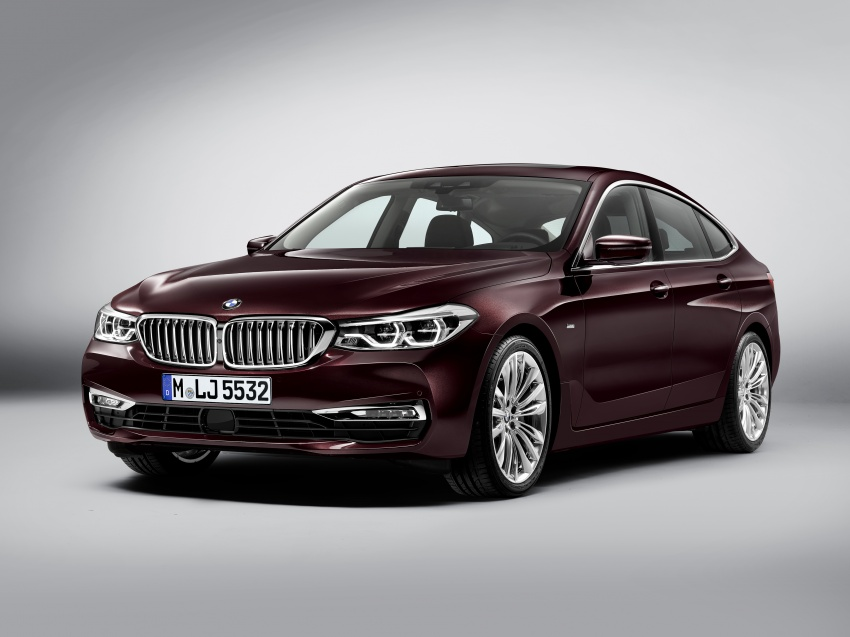 G32 BMW 6 Series Gran Turismo unveiled: more swish Image #672107
