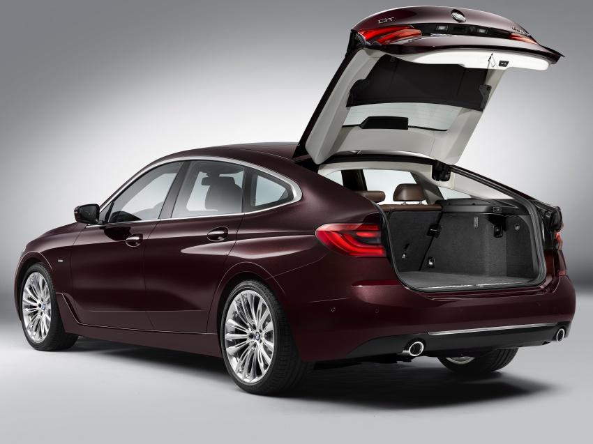 G32 BMW 6 Series Gran Turismo unveiled: more swish Image #672109