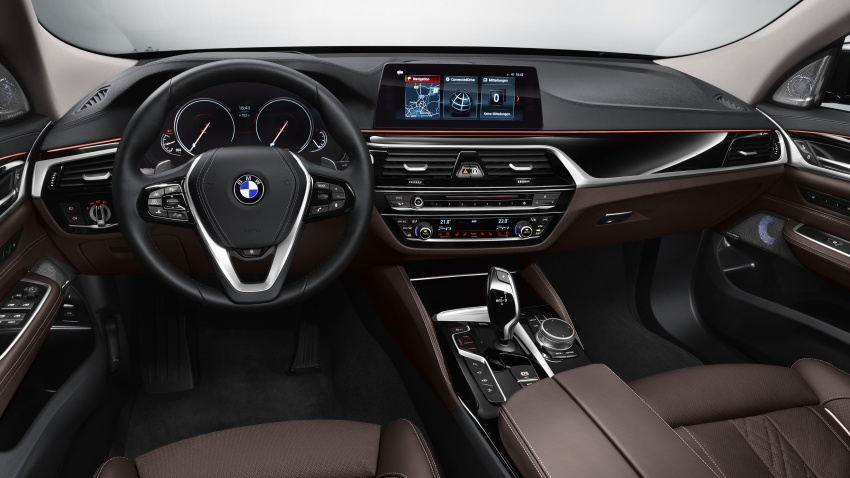 G32 BMW 6 Series Gran Turismo unveiled: more swish Image #672115