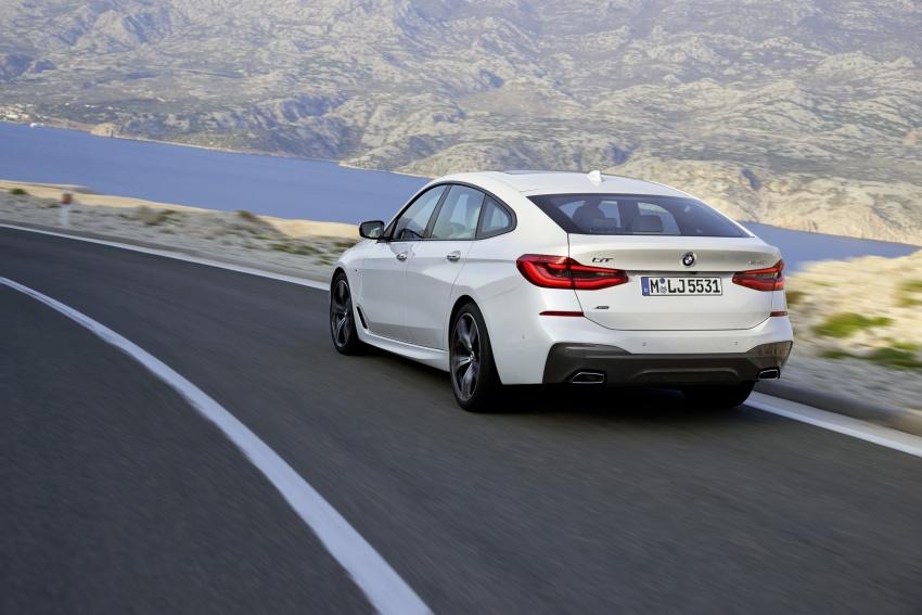 G32 BMW 6 Series Gran Turismo unveiled: more swish Image #672130