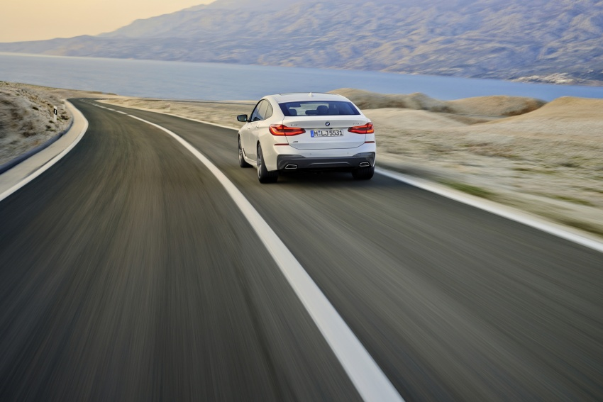 G32 BMW 6 Series Gran Turismo unveiled: more swish Image #672133