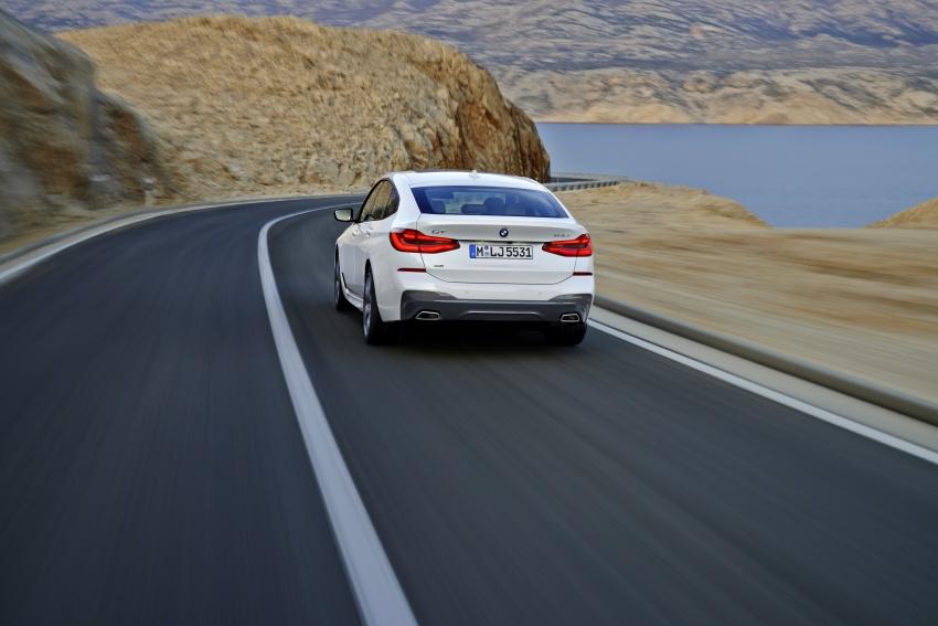 G32 BMW 6 Series Gran Turismo unveiled: more swish Image #672134
